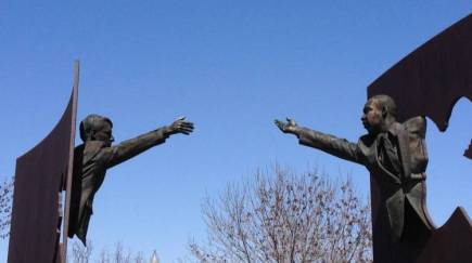 RFK and MLK Sculpture in Indianapolis